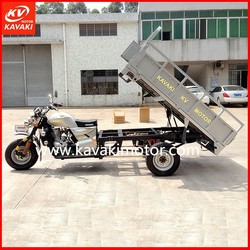 KAVAKI Guangzhou China 200cc 250cc Drum Tricycle Cargo Bike For Cargo