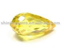 faceted good quality finely made magnetic pear buyers of semi precious cz stones