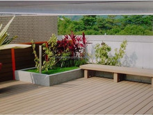 Hollow WPC Flooring / Wood Plastic Composite (WPC Decking)