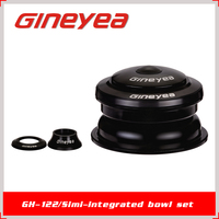 Gineyea GH-122 28.6 mm Diameter of Bicycle Parts Headsets for MTB or Road Bike