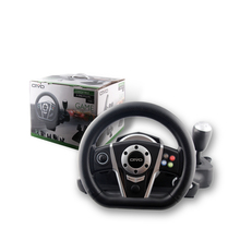 Factory Directly Video Games Accessories for xbox one / PS3 / PS2 / PC computer Racing Game USB Steering Wheel
