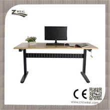 2015 new style funky manual crank height adjustable table
