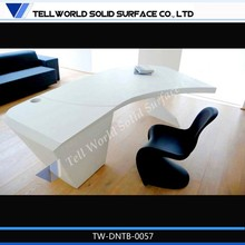 Pure acrylic solid surface luxury office furniture