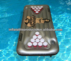 Eco-friendly Inflatable Floating Beer Pong Table