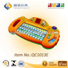 Mini Attractive Kid's Learning Laptop with LED Display with 15 Languages