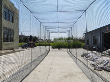 manufacturer whlesale inflatable 380D 66ply pe baseball batting cage netting