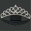 Tiara Coroa Pérola E Strass Noiva Debutante