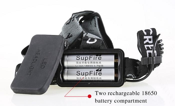 SupFire 10-watt XML T6 LED Headlights