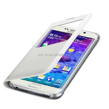 Original genuine leather smart phone case for samsung galaxy s6
