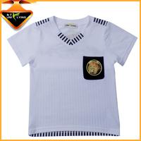 Kids casual wear Boy's V-neck Printed t-shirt
