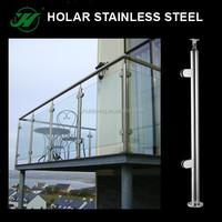 manufacturer side mount Glass balcony railing,terrace railing designs,railings for terraces