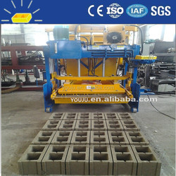 QMY10-15 fly ash brick making machine cost