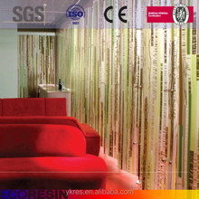 Factory Price construction material interior plastic wall partition