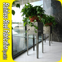Stainless Steel Flower Pot Stand Support