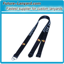 2012 Cheap Mobile Phone Phone Lanyard With Heat Transfer Printing