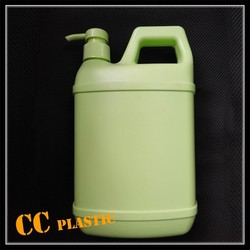 500ml 1l 1.8l hdpe plastic bottle for detergent lotion abluent with pump sprayer