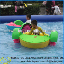 2014 New Style Aqua Plastic Hand Kiddie Paddle Boat with CE Certification