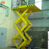 Hydraulic stationary inclined platform lift