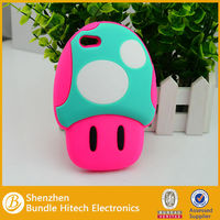 2014 new selling make up cute silicon case for iphone 5
