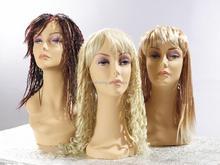 Hot sale maquiagem facial feminino manequim cabeça para peruca de formação de exibição