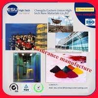 SGS TUV ISO certified Marine epoxy spray thermal Powder Coating Paint powder free samples