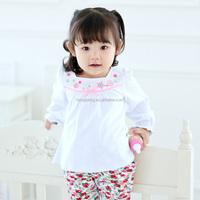 10287 designer children's clothing wholesale children polo shirt children bowknot shirt