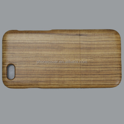 High quality Durable shockproof Phone Wooden case For iphone 6/6S 6/6S plus Genuine maple carbonized bamboo Wood Phone Case
