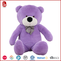 Beautiful huge teddy bear toys gift for girls Chinese manufacture customize