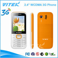 China supplier 2.4'' Dual Sim Card Phone WCDMA 850/1900/2100