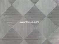 2015 Promotion Silver Foil Back Waterproof Drywall Pvc Plaster Ceiling Tiles