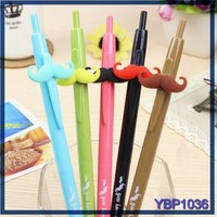 Fresh Style beard stylus ball point pen names 0.5mm ballpoint pen