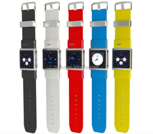 Quad band Android 4.0 OS phone call 3G smart watch phone with bluetooth, GPS,