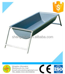 galvanized stainless steel cattle feeding trough,horse water trough