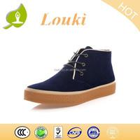 dark blue men shoes kids high heel shoes