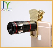 mobile phone accessories factory in china zoom lens for mobile phone, 4-in-1adjustable mobile phone camera lens from NICL
