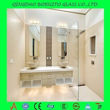 Best price 6mm bathroom silver mirrors with CE