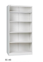 2015 modern office steel cabinet design open door steel library display bookshelf dimensions luoyang office furniture cabinet