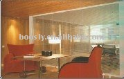 glass partition blinds/ office partition