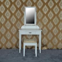 Royal bedroom furniture girl gift eternal white bedroom dressing table set