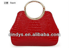 charming animal PU leather bag with structured outlook
