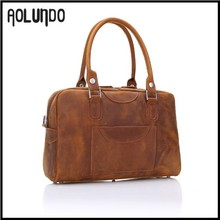 New design fancy leather gym sports custom duffle bags