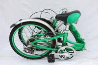 Aluminum alloy folding bicycle