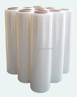 "4 Rolls Hand Stretch Plastic Film Shrink Pallet Wrap 16"" X 1500' NEW"