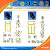 Great! commercial aluminum window frames section /design aluminum windows material drawings /aluminum window cad drawing