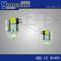 Normal close reliable water latching 12v dc high pressure solenoid valve