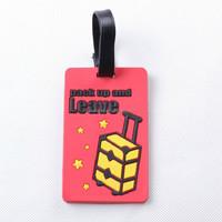 customized animal shaped soft pvc luggage tag of China supplier