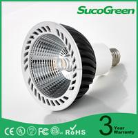 Narrow beam angle 12 15 24 38 degree diameter 124mm par 38 led bulb flood lamp Dimmable 23W COB 100-277V par38 led spot light