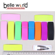 Fashion plastic Cover Snap Hair Clips