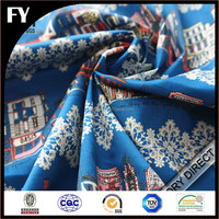 Custom digitally printed cotton canvas fabric specifications