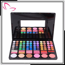 Hot sale 78 colors matte color eyeshadow palette with private label